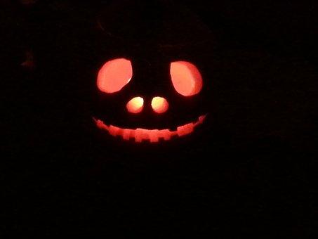 Jack-o-lantern, Pumpkin, Halloween, Holiday, Orange