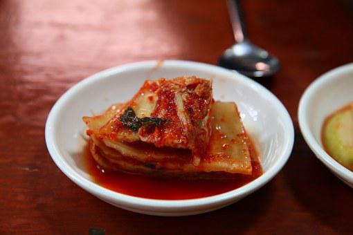 Kimchi, Baechu Kimchi, Spicy Kimchi, Side Dish