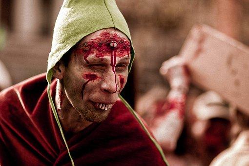 Zombie, Flesh Eater, Dead, Spooky, Scary, Apocalypse