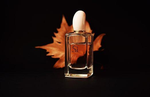 Perfume, Fragrance, Black, Autumn Leaves, Brown