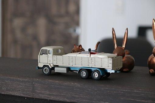 Toy, Truck, Vehicle, Car, Transport, Transportation