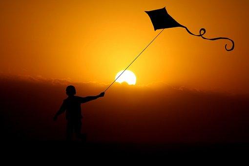 Child, Boy, Dragon, Dragon Flight, Wind, Dragon Fly