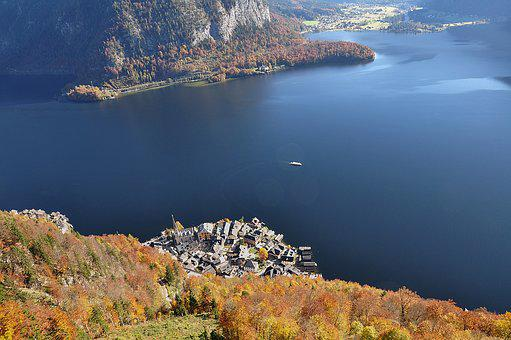 Hallstatt, Hallstatt From Above, Hallstättersee Lake