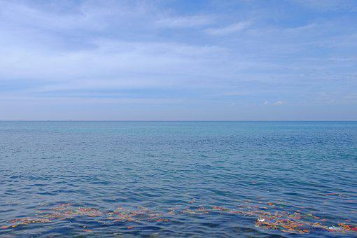 Sea Scape, Ocean, Sky, Landscape, Holiday, Scenery
