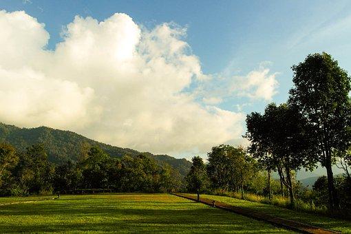 Patio, Sky, Image View, Nature, The Landscape