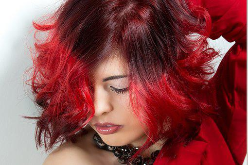 Hair, Models, Girl, Portrait, Trick, Hair Salons, Color