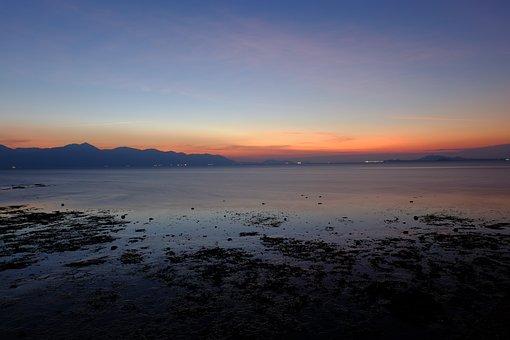 Beach, Sea Scape, Twilight, Sea, Sky, Travel, Water