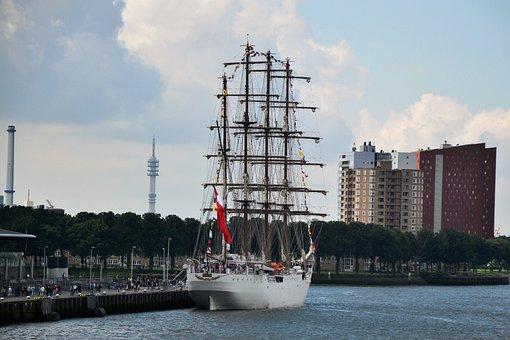 Sailing Ship, Second Largest, Union