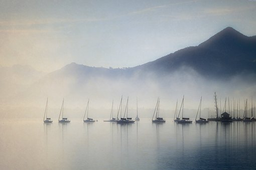 Fog, Landscape, Nature, Sun, Mysterious, Mystical, Mood
