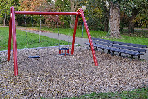 Playground, Swing, Play, Game Device