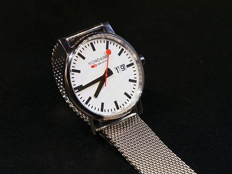 Wrist Watch, Sbb, Cff, Ffn, Swiss Federal Railways
