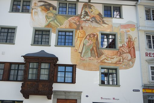St Gallen, Old Town, Town Home, Historically