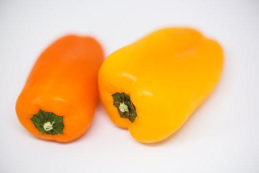 Pepper, Health, Vegetables, Vitamins, Yellow, Diet