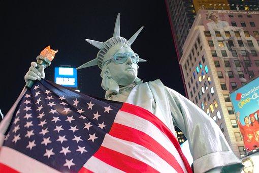 United States Of America, American Flag