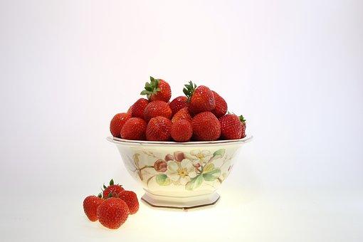 Fruit, Berries, Strawberries, Sweet, Fruits, Still Life