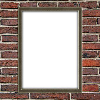 Wall, Blank, Picture, Portrait