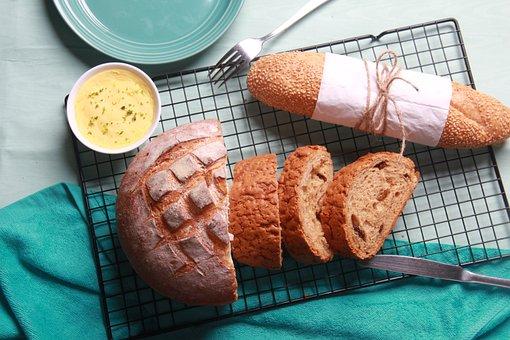 Bread, Green, Dilicious