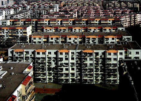 China, Urban, Building, Asia, Cityscape, Chinese