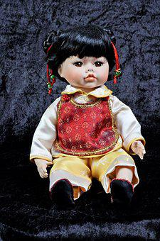 Chinese, Porcelain, Doll