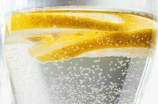 Water, Lemon, Fresh, Diet, Sparkle, Drink, Fruit