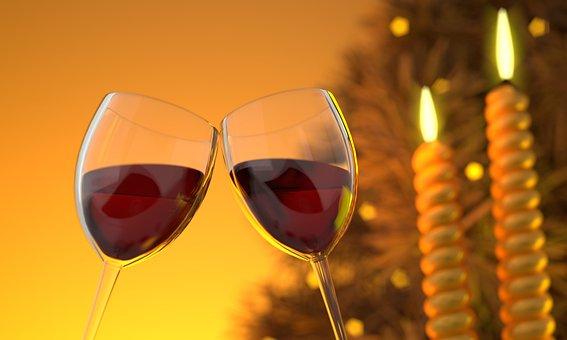 Wine, Glass, Alcohol, Glass Of Wine, Drink, Beverage