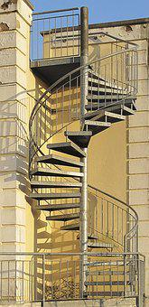 Spindle Staircase, External Staircase, Spiral Staircase