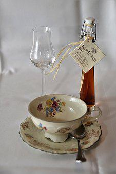 Liqueur, Coffee Cup, Glass, Benefit From, Enjoy