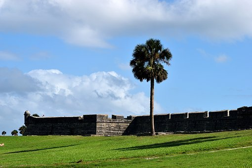 Castle Of San Marcos, Fort, Fortress, Castle, Historic