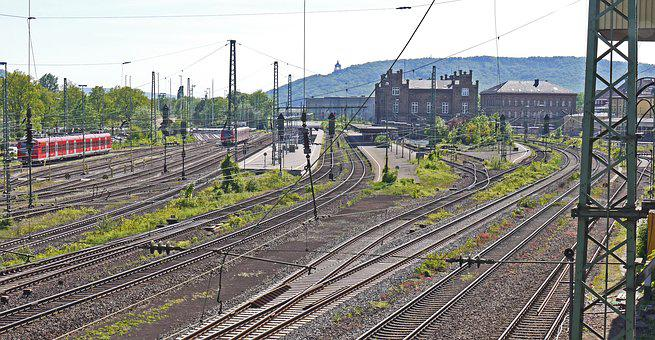 Minden Hbf, Overview, Station Building, Island Location