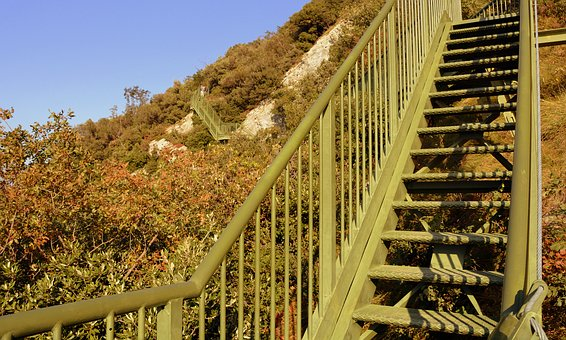 Scale, Trail, Autumn, Busatte, Italy, Mountain