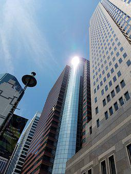 New York City, Skyscraper, Downtown, Water Street