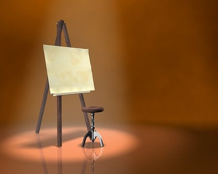 Painting, Easel, Artist, Drawing, Painter, Picture