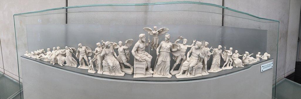 Statue, Greek, Sculpture, Classical, Greece, History
