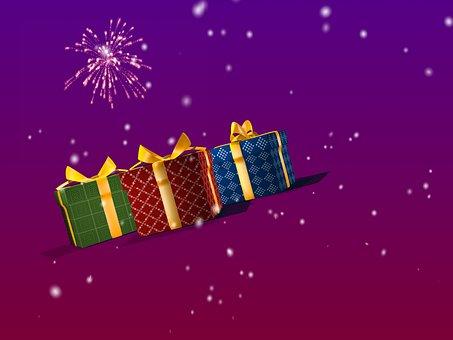 Present, Box, Gift, Christmas, Holiday, Surprise