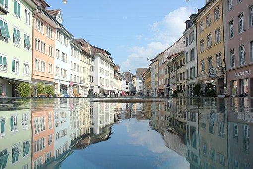 Winterthur, City, Town, Old Town, Switzerland, Europe