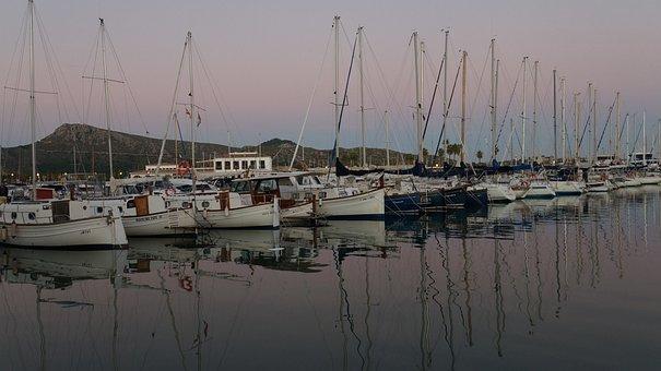 Boat Harbour, Puerto, Sailing Vessel, Port, Summer