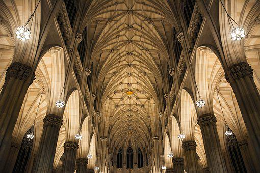 Cathedral, Church, City, Episcopal, Interior, History