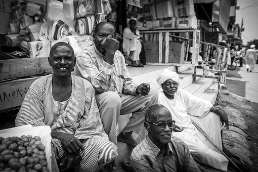 Friends, Khartoum, Sudan, People, Country, Arabic