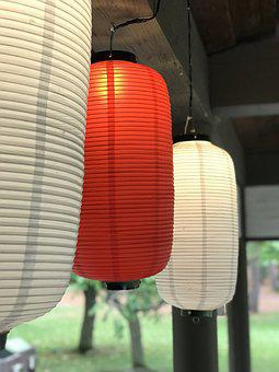 Lanterns, Lights, Lighting, Night, Lamp, Floor Lamp
