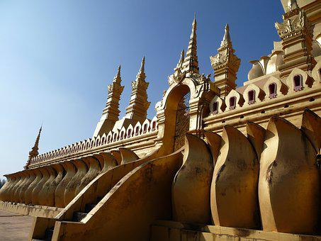 Temple, Thailand, Buddhism, Gold, Temple Complex, Asia
