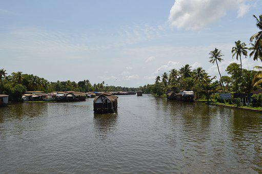 Lake, Backwaters, India