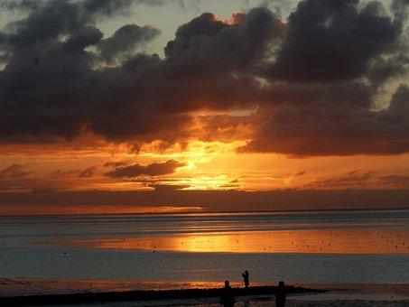 North Sea, Norddeich, Wadden Sea, East Frisia