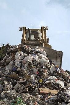 Landfill, Bulldozer, Garbage, Dump, Trash, Recycling