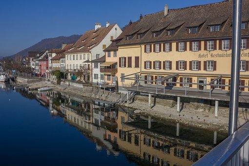 Water, Stein Am Rhein, Schaffhausen, Switzerland, Lake