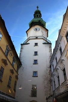 Clock Tower, Building, Sky, Architecture, Landmark