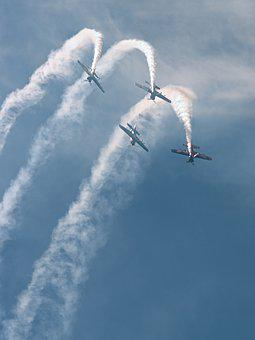Airshow, Aircraft, Heaven, Sky, Flight, Airport