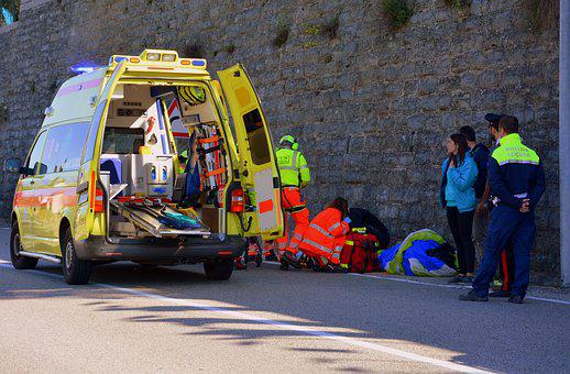 Ambulance, Rescue, Emergency, 118, Police, Road