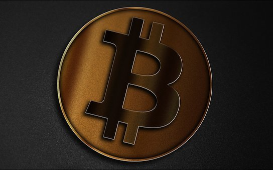Bitcoin, Cryptocurrency, Electronic Money, Golden