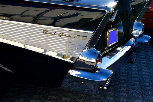 Classic Car, Chevrolet, 1957, Vintage, Retro