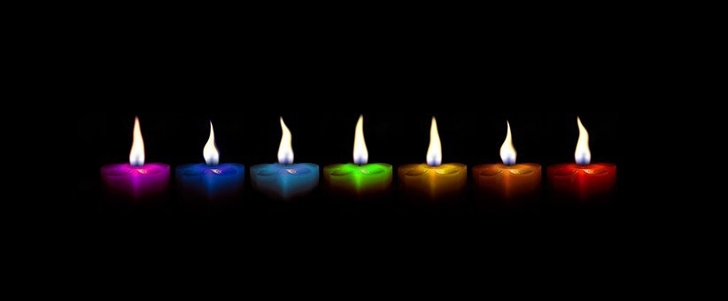 Candles, Christmas, Colorful, Festival, Candlelight